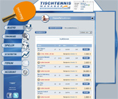 Tischtennis Manager Screenshoot